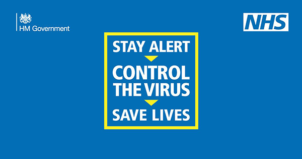 Stay alert and control the virus
